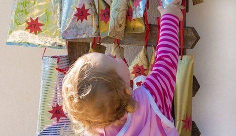 Adventskalender füllen: 100 Ideen, um Kinder zu