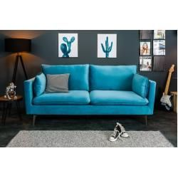 Banking Groen Banking Design 3er Sofa Famous 210cm Aqua Samt Federkern Inkl Kissen Riess Ambienteriess Ambiente In 2020 Retro Bank Blauw Fluweel Slaapbank