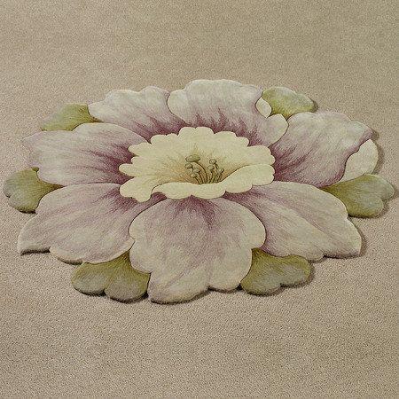 Sachet Round Flower Rug Mauve Favorite Bedding Collections Pinterest