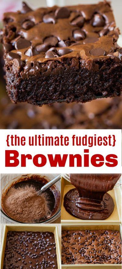 Fudgy Brownie Recipe Video Natashaskitchen Com Brownie Recipes Fudgy Brownie Recipe Brownies Easy