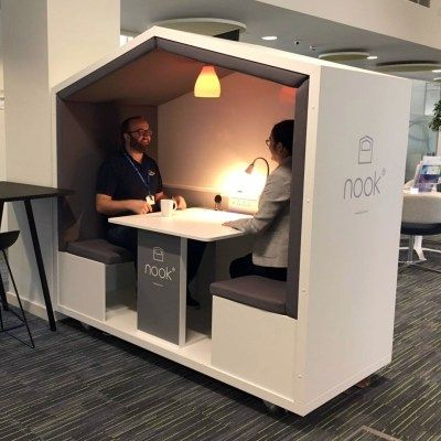 Gallery Nook Mobile Meeting Pod Design Studio Office Cheap