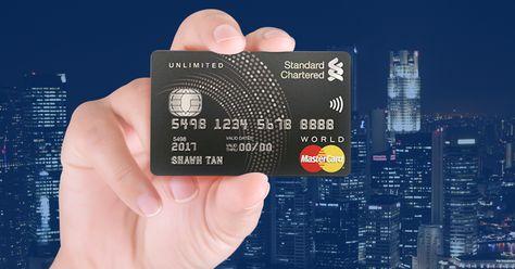 First Impression Standard Chartered Unlimited Cashback Credit Card Review Cashback Creditcardreview Standardchartered Unlimitedc Kartu Kredit Kartu Desain