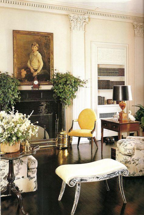 Albert Hadley. Living Room Look and Feel.