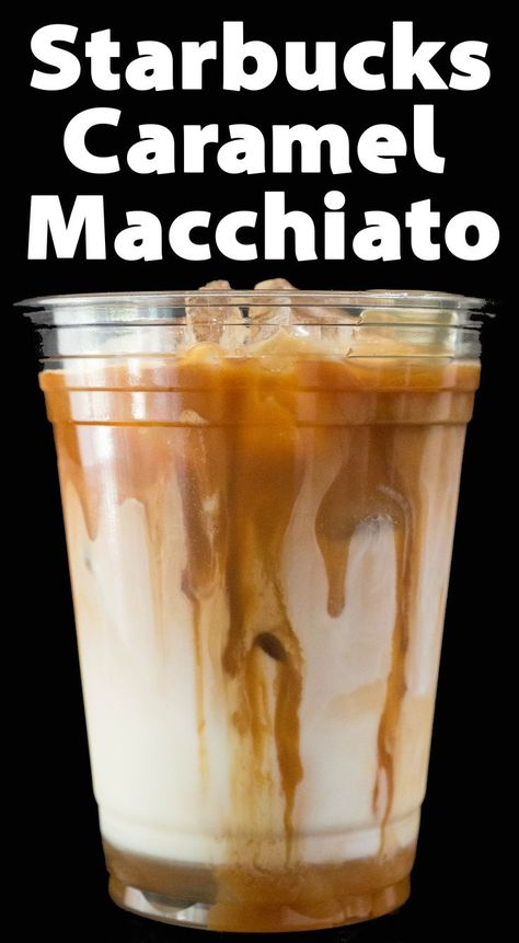 Save money by making an Iced Caramel Macchiato at home, just like Starbucks! Espresso or coffee over milk with vanilla syrup and caramel. This copycat version of an Iced Caramel Macchiato tastes just like Starbucks! Iced Coffee At Home, Iced Coffee Drinks, Coffee Drink Recipes, Espresso Drinks, Easy Coffee, Blended Coffee Recipes, Iced Coffee With Keurig, Ninja Coffee Bar Recipes, Healthy Coffee Drinks