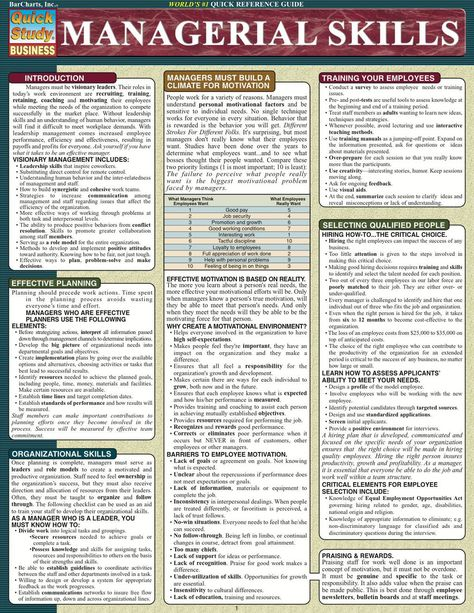 Managerial Skills (eBook)