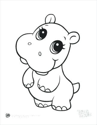 How To Draw Easy Cute Animals Cute Coloring Pages How To Draw A Cute Cute Coloring Pages Baby Animal Drawings Animal Coloring Books