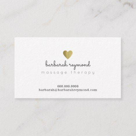 Massage Therapy Custom Profession Basic White Business Card Zazzle Com Examples Of Business Cards White Business Card Massage Therapy