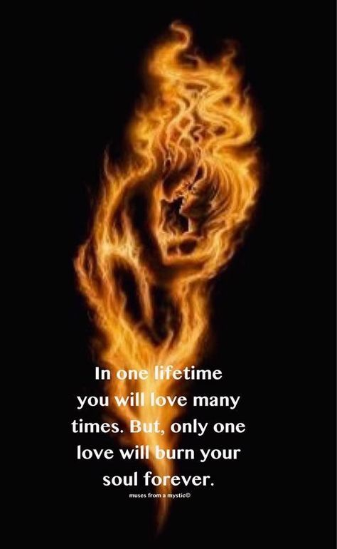 Twin flame love, Spiritual love, Love quotes, Relationship quotes, Twin flame, Soulmate - In a lifetime you will love many times  But only one love will be yours -  #Twinflame #love