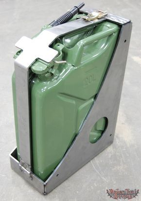 1016001 Jerry Can Mount 5 Gallon Jerry Can Fuel Storage Gas Cans