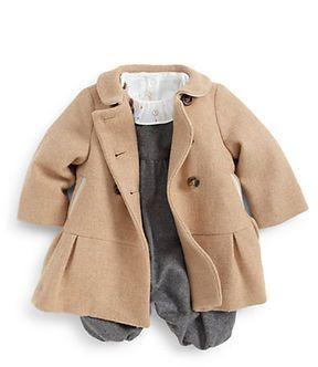 60c600549 Marie Chantal Infant's Flick Wool Coat on shopstyle.com | Children's ...