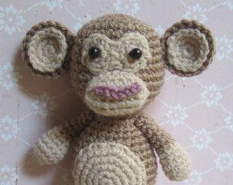 Mike the Monkey - Amigurumi Crochet pdf Pattern (EN, DK & NL) | Crochet  amigurumi, Crochet, Amigurumi | 270x340