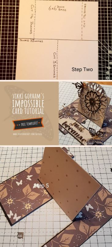 The Impossible Card Discover The Secret Behind This Impossible Design Create Craft Blog Create And Craft Creative Cards Cardmaking