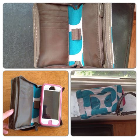 Thirty One Gifts. Every-Day Wristlet. Teal mod dot. It will even zip with my bulky otterboxed iPhone in it! LOVE it!!!!