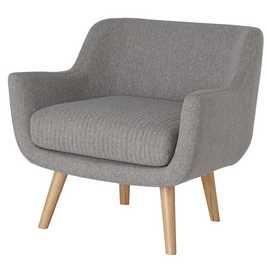 Buy Habitat Nellie Fabric Accent Chair Grey Armchairs And Chairs Argos In 2020 Fabric Accent Chair Accent Chairs Fabric Accents