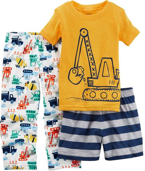 6cb3392fd Carter s 4-Pc. Plane Awesome Cotton Pajama Set