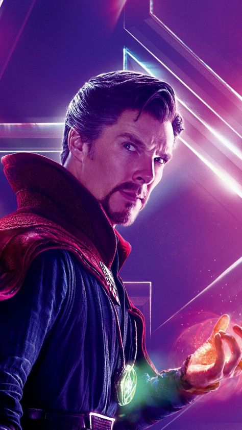 Doctor Strange In Avengers Infinity War 4K Ultra HD Mobile Wallpaper