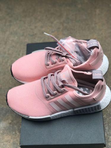 Adidas NMD R1 Runner Vapor Pink Light Onix Grey Offspring BY3059 ...