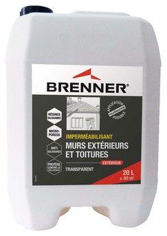 Impermeabilisant Pour Murs Exterieurs Et Toitures 20 L Brenner Brico Depot Mur Exterieur Toiture Exterieur