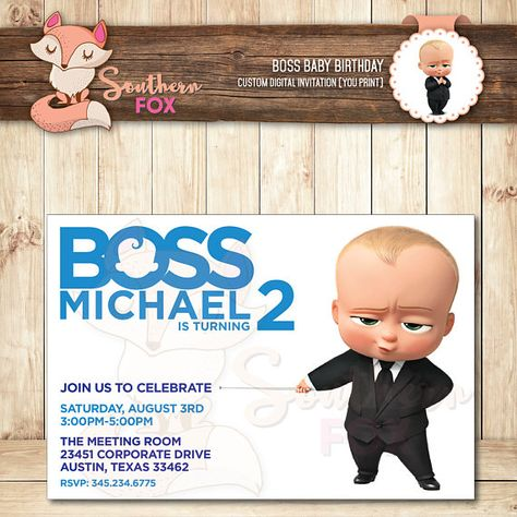 List Of Pinterest Boss Baby Invitations Card Pictures Pinterest