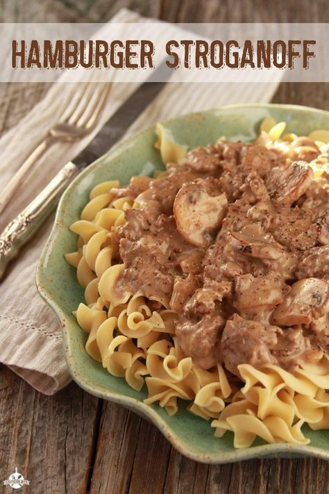 Easy Hamburger Stroganoff and Wisdom from a 6-Year-Old - Southern Bite