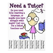 This black and white tutoring flyer is ideal for both independent ...