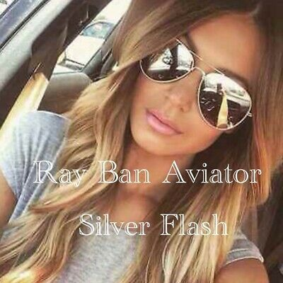 Ebay Ad Ray Ban Rb3025 W3277 58 145 55mm Small Silver Flash