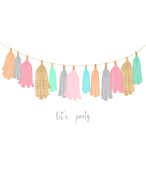 "Miss Audrey Sue | BLOG: freebie: ""let's party"" wallpaper set"