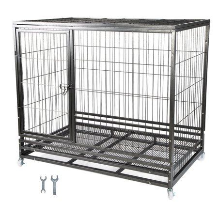 Large Dog Cage With Divider Large Dog Cage Dog Cages Dog Crate