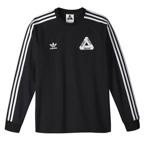 Trampki 2018 słodkie tanie buty na tanie Adidas X Palace Black long sleeve T shirt Manchester ($64 ...
