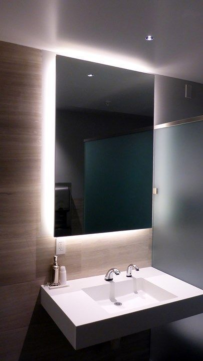 34++ Bathroom cabinets mirror led best