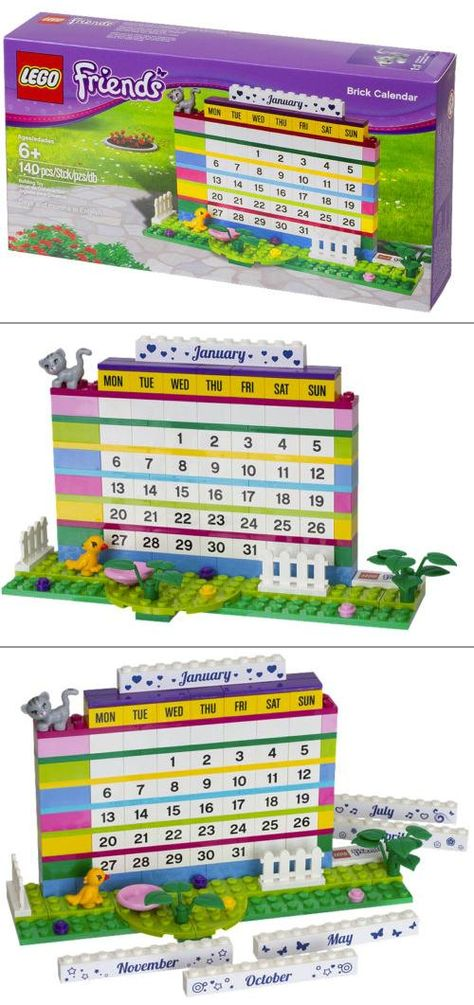 Make Time To Play Every Day With An Eternal Lego Calendar The