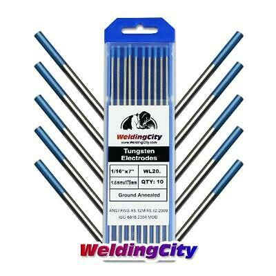 Sponsored Ebay Weldingcity 10 Tig Welding Tungsten Electrodes 2 0 Lanthana Welding Welding Electrodes Welding Tools