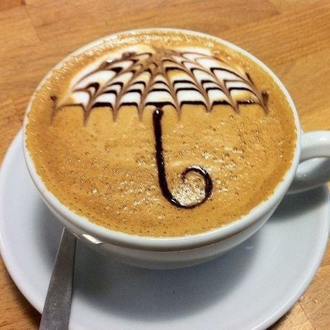 Rainy Day Vibes - Insanely Creative And Impressive Coffee Art Designs - Photos