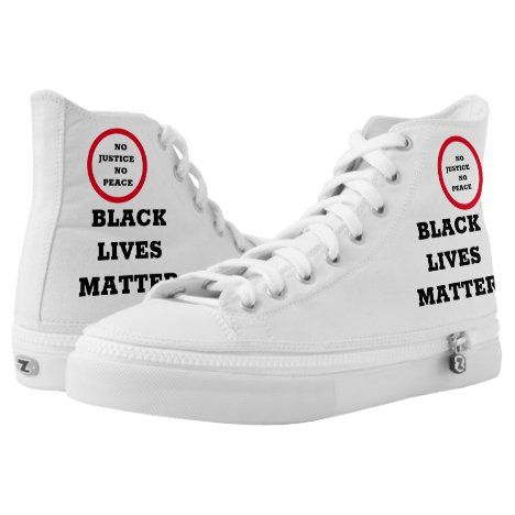 Awesome Black Lives Matter Shoes Zazzle Com In 2021 Justice Shoes Black Lives Matter Shoes