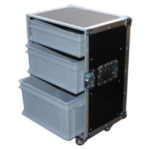 Small Flight Case With Drawers In 2019 Drawers Small Office Desk Small Tub