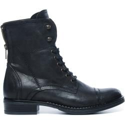 Schwarze Biker Boots (36,37,38,39,40,41,42) ManfieldManfield