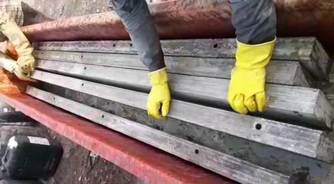 Mivan Shuttering Cleaning Solution To Removing Rust And Concrete Build Up On Aluminium Formwork The Oxidation An How To Clean Rust Cleaning Chemicals Cleaning
