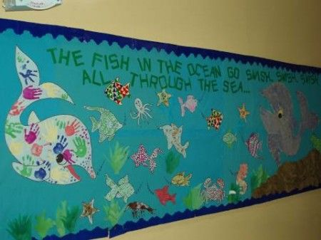 We love the idea of an end-of-the-year ocean unit/theme and this adorable bulletin board designed by the Masood twins of The Friday Class is the perfect compliment! We love that your students can.