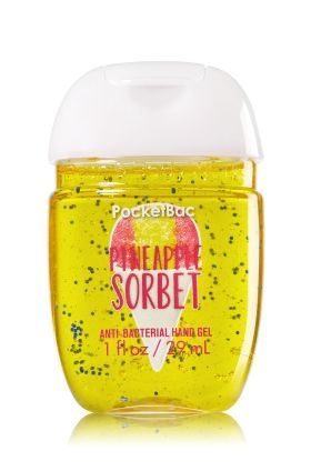 Pineapple Sorbet Pocketbac Sanitizing Hand Gel Soap Sanitizer