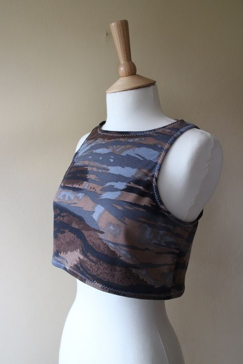 Ellie Easy Fit Tank and Crop Top PDF Sewing Pattern - The Tailoress