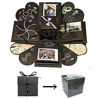Kreative Überraschung Box DIY Geschenk Handgemachtes Scrapbook Faltend Fotoalbum