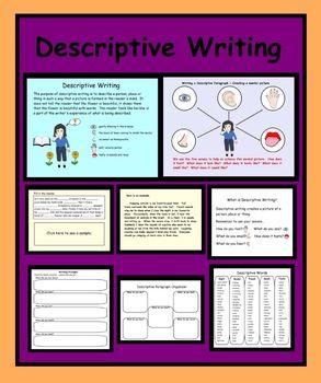 Smartboard How To Write A Descriptive Paragraph Writing Lessons
