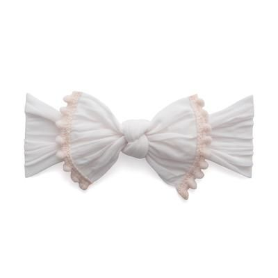 Trimmed Classic Knot Ballet Pink Baby Bling Bows Baby Bling Bows Ballet Pink Knot Headband