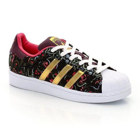 ADIDAS Superstar W ADIDAS (Imprimé fleur)   Zapatos adidas, Zapatos