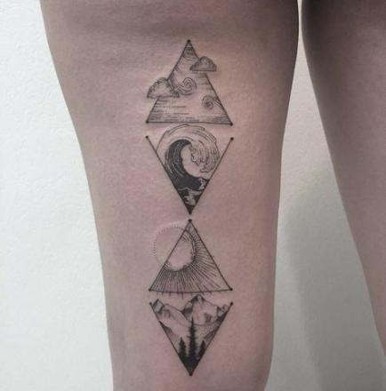 37+ New Ideas For Tattoo Back Small Simple Tat #tattoo