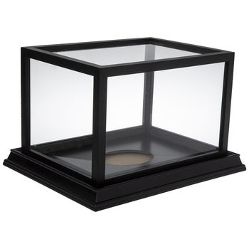 Black Football Display Case In 2020 Display Case Display Football