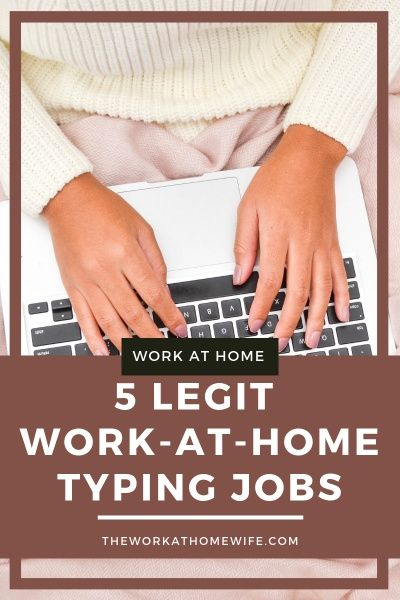 5 Legit Typing From Home Jobs No Scams No Systems Typing Jobs From Home Typing Jobs Make Money Writing