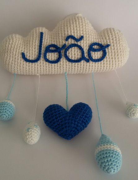 Lindo mobile de crochê amigurumi feito em lã anti ácaro e anti ...   580x445