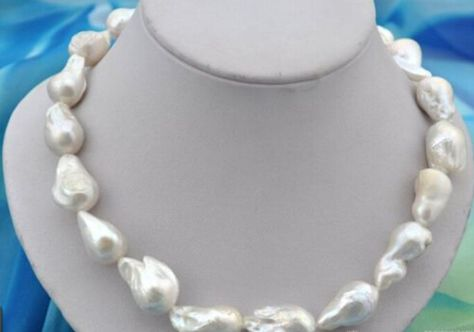 """AAAAA 18/""""9-10mm Natural South Sea Perfect ROUND Blanc Collier De Perles Or 14K"""
