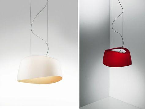 Lampade In Vetro Soffiato : Lampada a sospensione in vetro soffiato aero by lucente gruppo